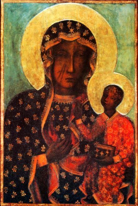 Negroid Madonna is the most ancient depiction of Madonna / Негроидная Мадонна - самое древнее изображение Мадонны