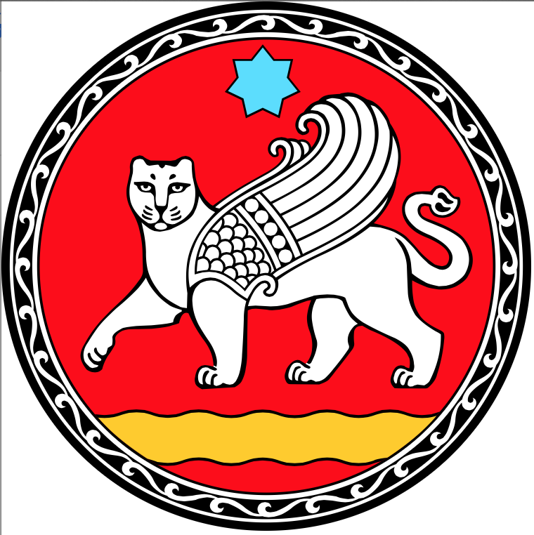 Coat of arms of Samarkand city, Uzbekistan