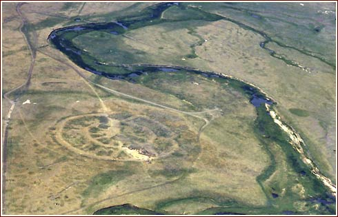 Arkaim - Russian Swastika City (3000 BC) ---------- Аркаим - Русский Город Свастики (до н.э.)
