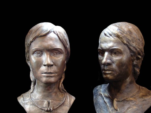 Burials in Arkaim and in the surrounding area contain ONLY Aryan sculls of the white race. Here is the reconstruction of one of the sculls