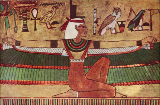 The oldest and most important goddess of Egypt is Maat, which is a Russian word for mother --