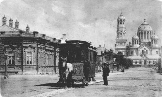 The City of Samara, Russian Empire, 1905 ---------- Город Самара, Русская Империя, 1905 год