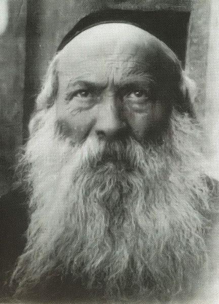 Shmuel Bornsztain (1855–1926) also spelled Borenstein or Bernstein, was the second Rebbe of the Sochatchov Hasidic dynasty. He was known as the Shem Mishmuel by the title of his nine-volume work of Torah and Hasidic thought. He was a leading Hasidic thinker in early 20th-century Europe and a Rebbe to thousands of Hasidim in the Polish cities of Sochaczew (Sochatchov) and Łódź. ---------- Шмуэль Борнстейн (1855-1926) также пишется Боренштейн или Бернштейн, был вторым Ребе из хасидской династии Сохачев. Он был известен как Шем Мишмуэль по названию его девяти томов Торы и хасидской мысли. Он был одним из ведущих хасидов-мыслителей в начале Европе начала 20-го века, и раввином для тысячам хасидов в польских городах Сохачев и Лодзь.