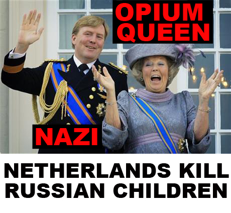 Netherlands kill Russian children