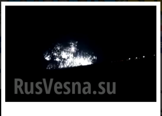 On July 2014, Ukro-Zio-Nazi Junta bombed unarmed civilians in Donetsk (over 982,000 inhabitants) with white phosphorus bombs.