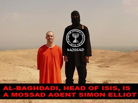 Al-Baghdadi is Simon Elliot, Mossad agent