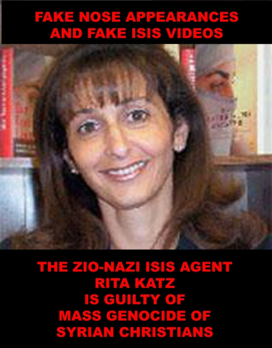 Rita Katz is the Zio-Nazi ISIS agent, directly responsible for the mass genocide of Syrian Christians by the Five Eyes agents (CIA, SIS and ISIS).