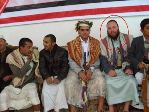 Steven Sotloff, a Mossad agent, impersonating an Islamist.