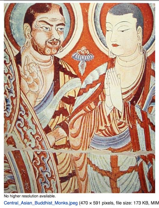 Слева -- Хан, справа - уйгур-китаец. Совершенно очевидно, что Хан - русо-арийский к-асса-к.