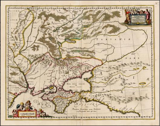 Герхард Меркатор (Gerhard Mercator), 1620 г. Фламандрский картограф. Территория Украины обозначена как Тартария. Руссия обозначена на севере. Причём обратите внимание --- на всех русских территориях живут ПАРСЫ - PARS, что указывает на то что расы-русы-парсы-татары-скифы-сарматы-саки -- это всё было единое русо-арийское племя. И это пдемя помнило о своёи единстве от океана до океана вплоть до того, как крестоносцы проникшие на Русь с подменённым лже-Петром, разбили Тартарию под прикрытием подавления Пугачевского восстания (1773-1775).