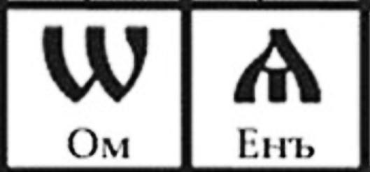 На подлинной Хризме / Хрисмоне изображены Руские буквы
