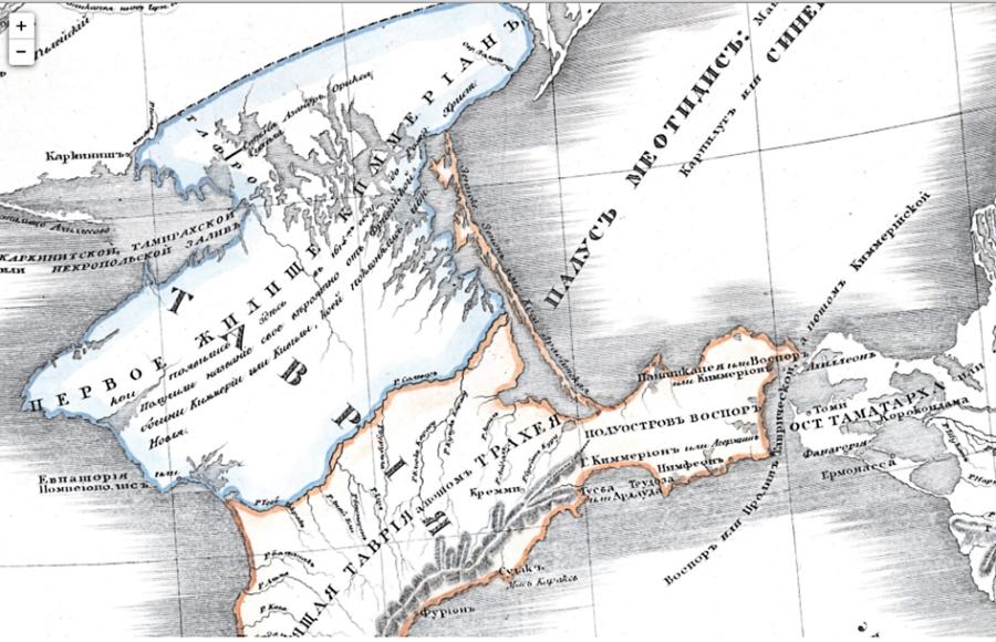 Крым / Таврия стал первым жилищем Самарцев / Кимерийцев / Кемеровцев после того, как они спустились с Руского Северного Полюса.