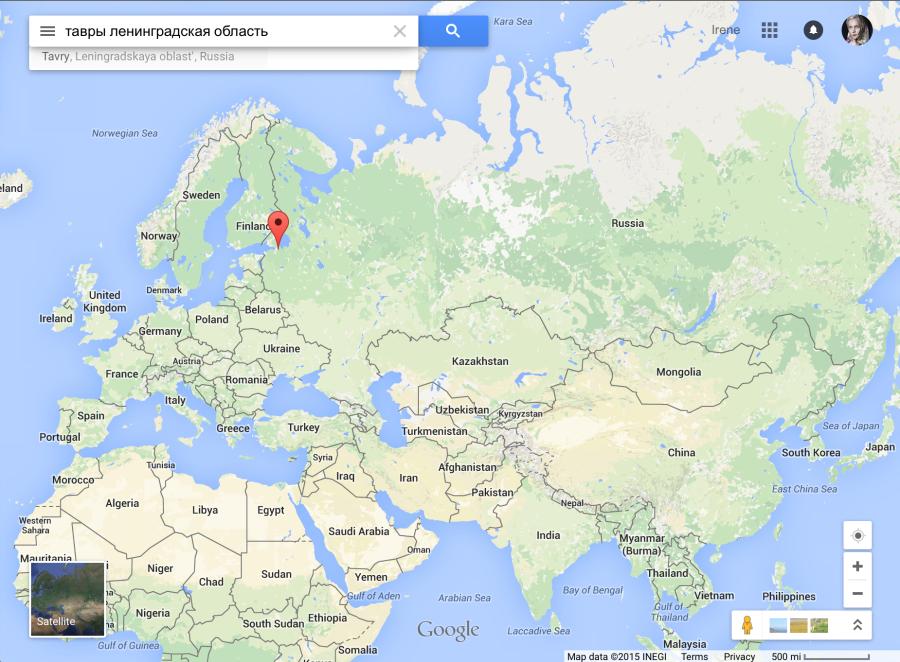 Деревня Тавры в Ленинградской области города Санкт-Петербурга на севере России.