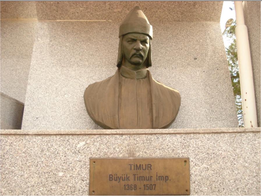 Рус / Скиф-Сак / Кас-Сак / Казак Тимур, Галерея портретов Великих Моголов в Турции.