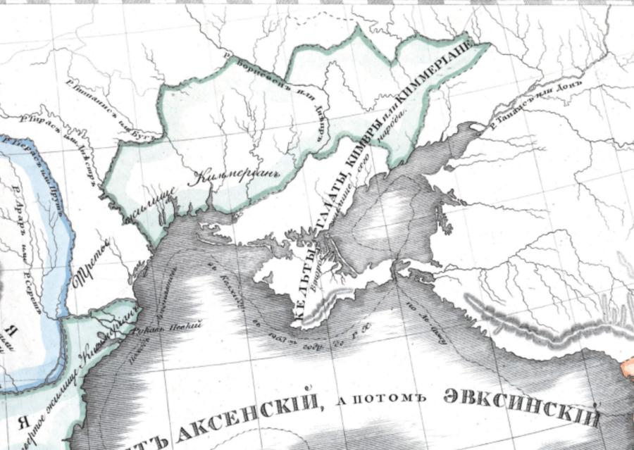 Из Крыма и пошло расселение Руско-Арийских Кимерийцев / Самарцев / Кемеровцев по Европе, по мере стаивания ледника. Расселение в Европу как раз и началось с Балкан.