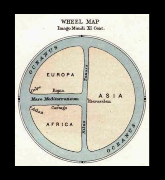 Карта Десятого века - где Нил назван продолжением Дона (Танаиса) или Дон - (сакрально-исторически-географически) продолжением Нила.