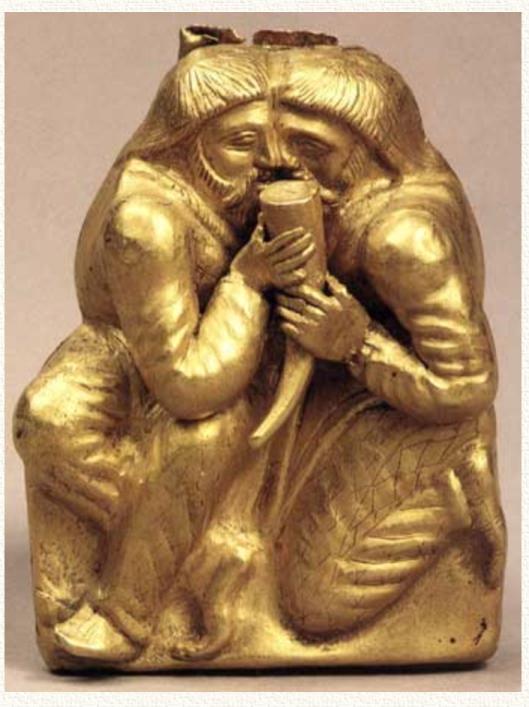 Сцена воинского братания — один из обрядов-ритуалов русской воинской традиции.