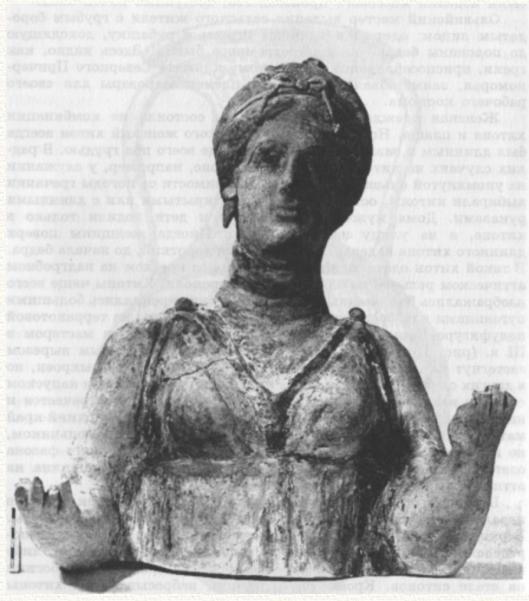 Женский расовый тип Северного Причерноморья скифской эпохи. Близок к украинскому. С «греческим» типом (средиземноморским, арменоидным) имеет мало общего.