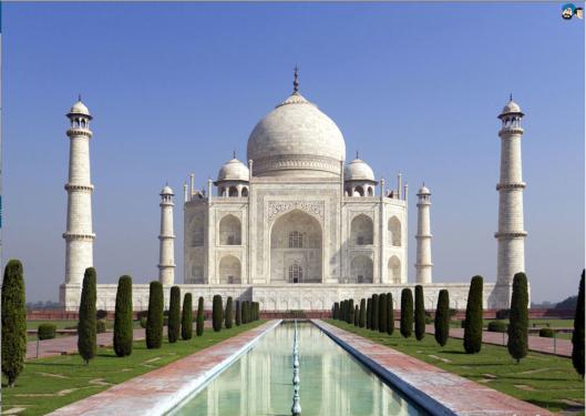 Mughal emperor Shah Jahan построил Мавзолей Тадж Махал / Могул / Мугал / Могол (Taj Mahal) в 1632 году для своей третьей жены Мумтаз Махал / Могул / Могол (Mumtaz Mahal).