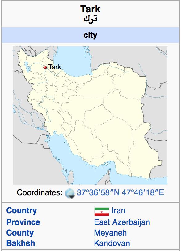 Турки / Тюрки - это иранцы-персы.