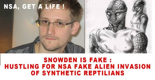 Snowden is fake.