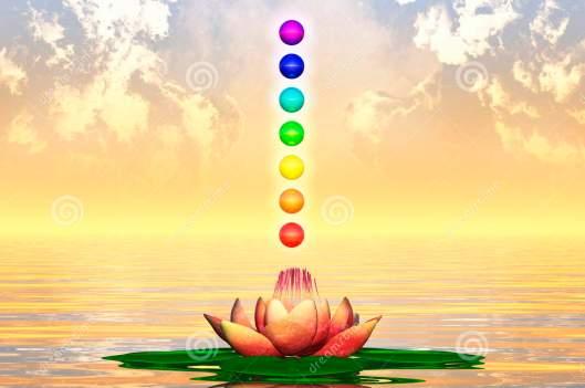 Sacred Lotos is the unity of seven chakras. ---------- Священный Лотос - это единство семи чакр.