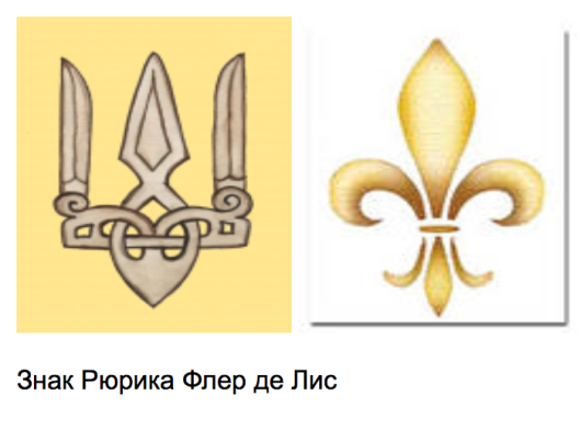 Anna of Kiev brought Fleur-de-LIs to France. Fleur-de-LIs is the other symbolic reading of Falcon (Sokol) Rarog -- the symbol of Rurik (Rurikid) Dynasty of Kiev Rus'.
