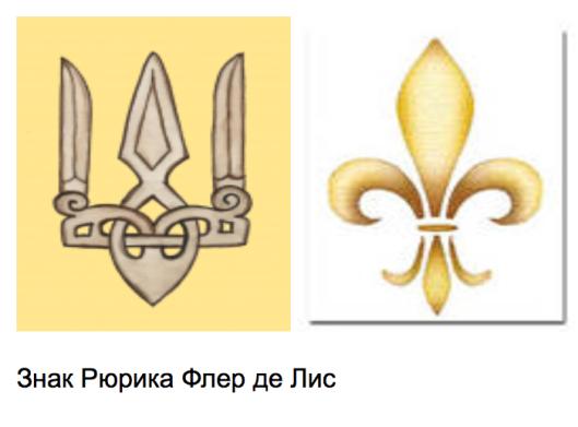Anna of Kiev brought Fleur-de-LIs to France. Fleur-de-LIs is the other symbolic reading of Falcon (Sokol) Rarog -- the symbol of Rurik (Rurikid) Dynasty of Kiev Rus'.