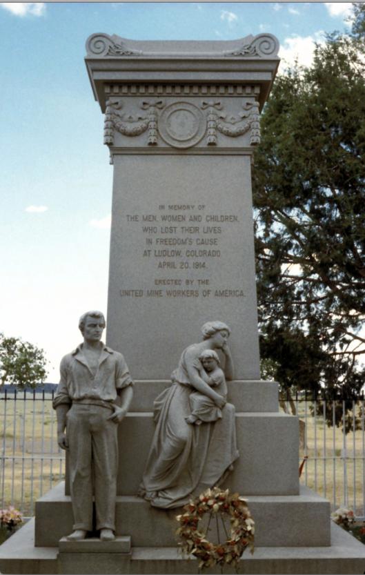 Monument for the Ludlow Genocide by Rockefellers, Ludlow, Colorado ---------- Памятник геноциду Рокфеллеров в Ладлоу, Колорадо