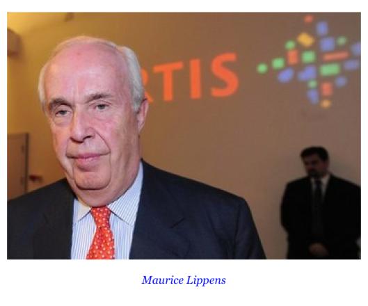 Педофил банкир Маурис Липпенс