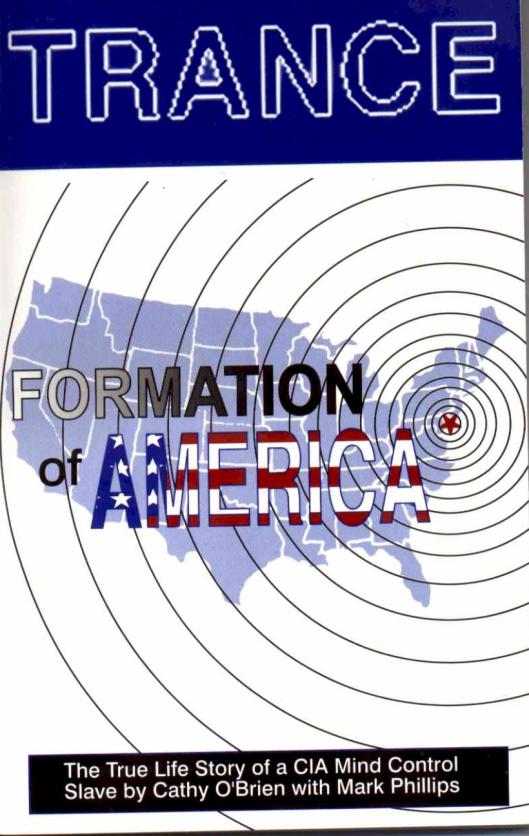 """Книга воспоминаний Кэти О Брайен """"Транс-формация Америки"""" о ритуалах педофилов сатанистов-сионистов из высшего эшелона Американского общества, в которой она, в частности, пишет, что Клинтон при ней заявил, что Новый Мировой Порядок будет невозможно построить без глобального психотронного конроля над сознанием людей всего мира."""