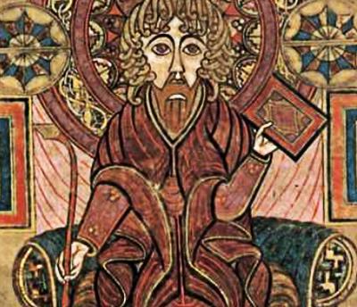 Иоанн Креститель с Гаммадионом / Свастикой, Новый Завет