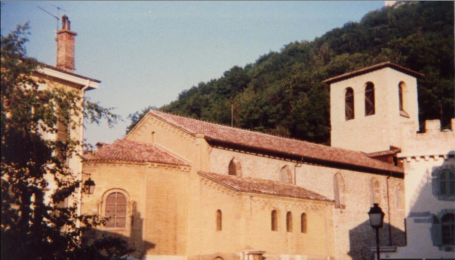St. Laurent Church in Grenoble which is now part of the Grenoble Archaeological Museum, 12th century.