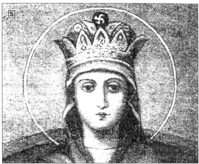 Икона Державной Богоматери со свастикой в венце, Храм Вознесения Господня.