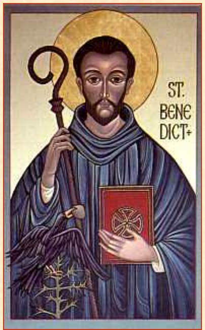 Святой Бенедикт, который претворил Гаммадион Абба в социальный институт Абба-та.