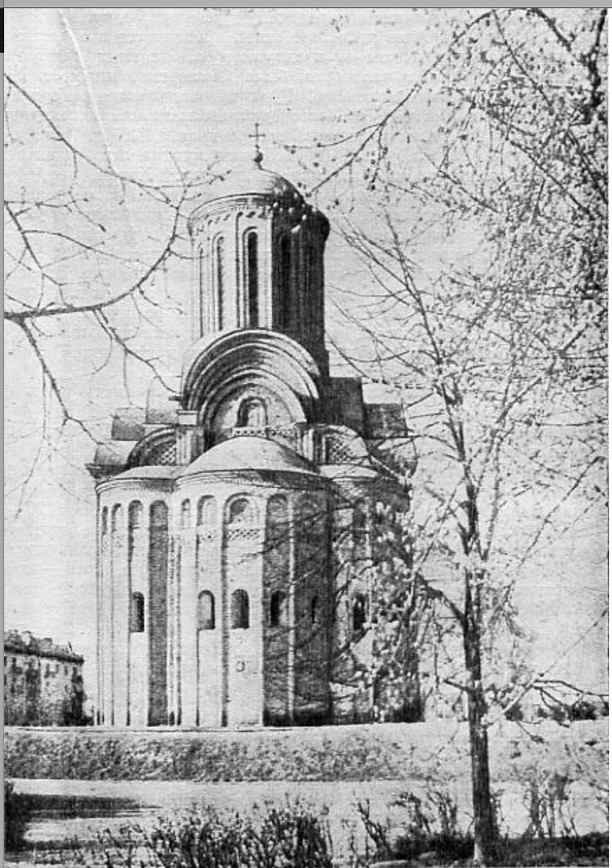 Церкви Св. Пятницы XII века н.э. в Чернигове.