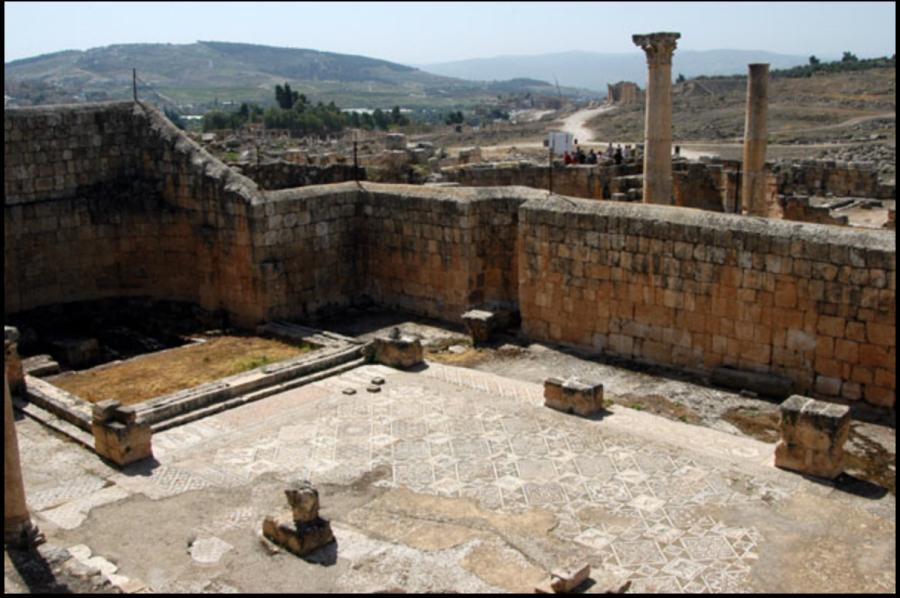 Церковь Святого Иоанна Крестителя, Гараса, Северный Иордан (Church of St, John the Baptist, Jerash).