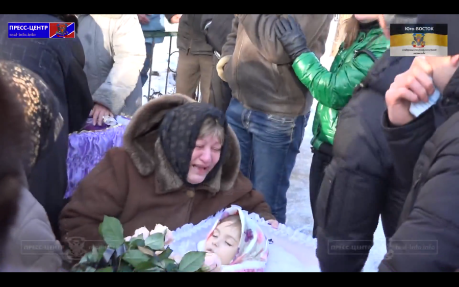 Arisha Gusak, 5 years old (April 9, 2010 -  January 21, 2015),  KILLED BY THE CRIMINAL US AND EU ADMINISTRATIONS WHO MANIPULATE THEIR CRIMINAL MARIONETTES IN UKRAINE.