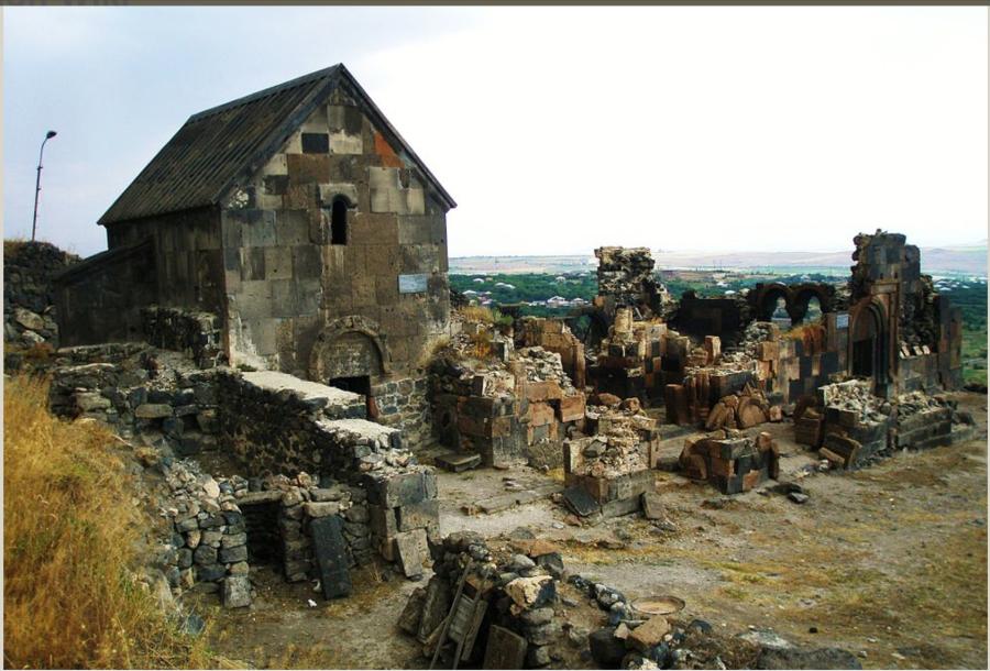 St. Sarkis (Sargis) monastery, Ushi, Armenia, 10th century.