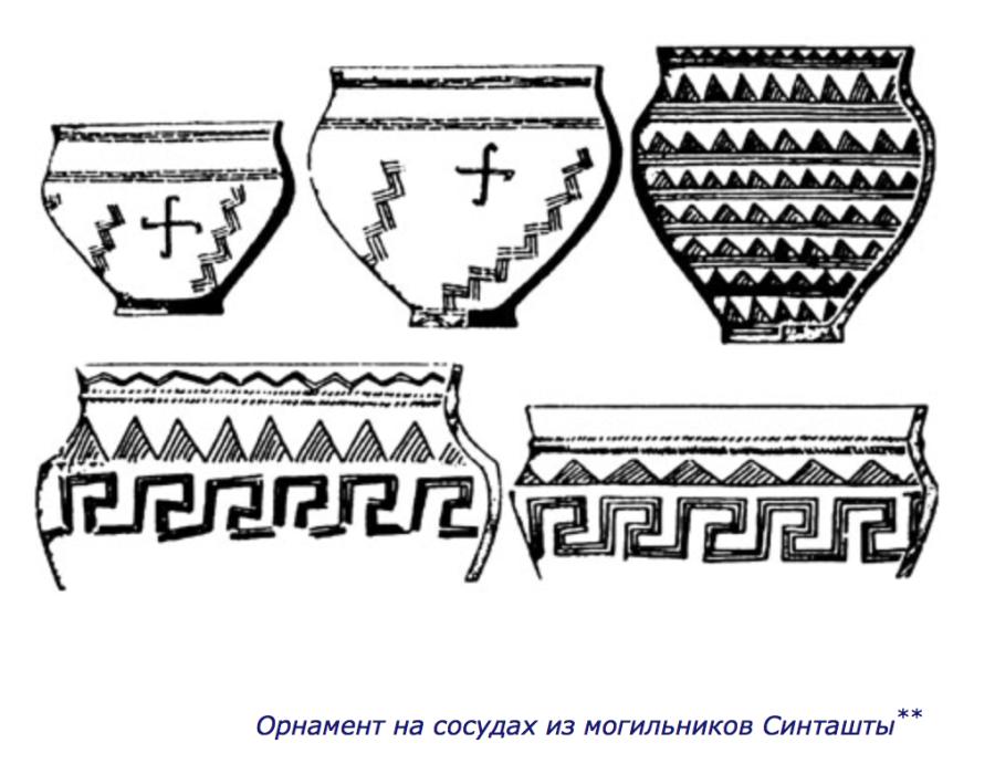 Аркаим, Синташская культура, 3,000 до н.э. и ранее, Южный Урал, Россия.