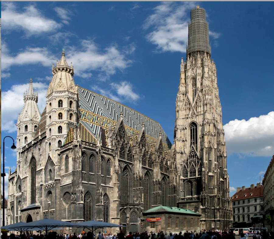 St. Stephen's Cathedral Austria, 1147.
