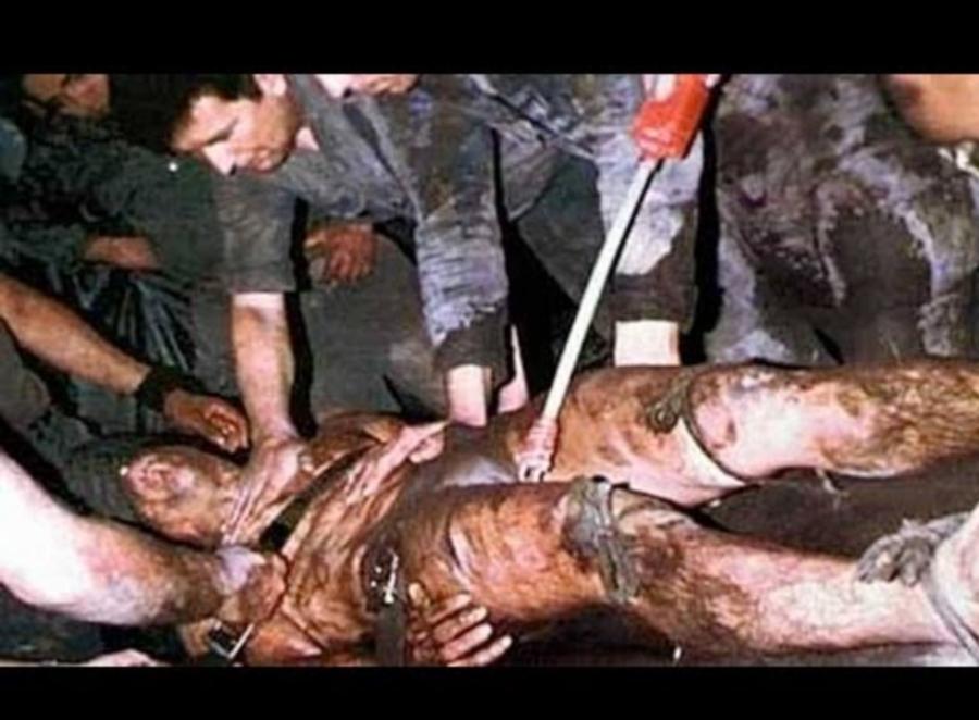 Изнасилованное и растерзанное тело посла Стивенса.