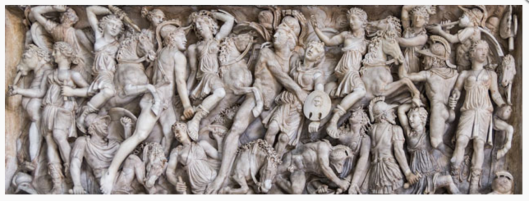 AMAZONS-FIGHTING-GREEKS-PIO-CLEMENTO-MUSEUM-VATICAN