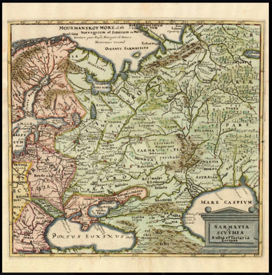 SCYTHIA-ET-TARTARIA-BY-PHILLIP-CLUVER-1694
