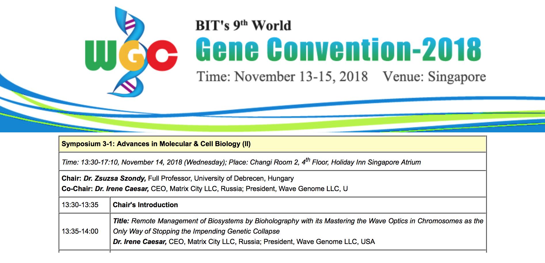 2018_11_14_irene_caesar_bit_9th_world_gene_convention_singapore_heading